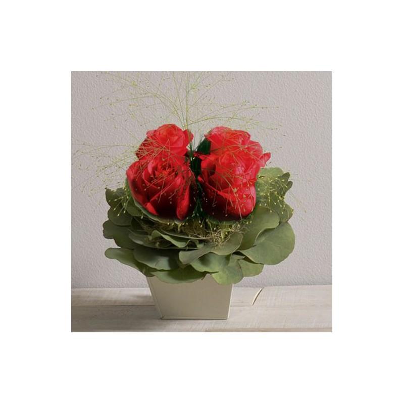 Composition de fleurs poudr interflora - Composition de fleur ...