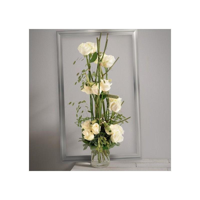 bouquet de roses plume corse. Black Bedroom Furniture Sets. Home Design Ideas