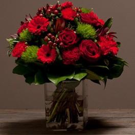 Bouquet deuil de fleurs rouge interflora corse - Bouquet des fleurs rouges ...