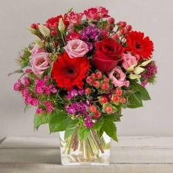 Bouquet st valentin my valentine for Bouquet saint valentin