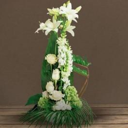 Fleurs deuil eternel for Envoi fleurs deuil