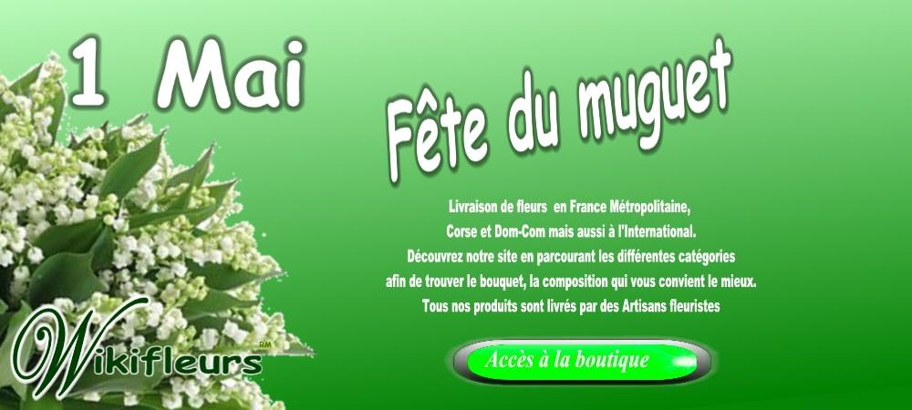 Muguet porte bonheur du 1er mai livraison muguet fleuriste 1er mai wikifleurs - Photo muguet 1 mai ...