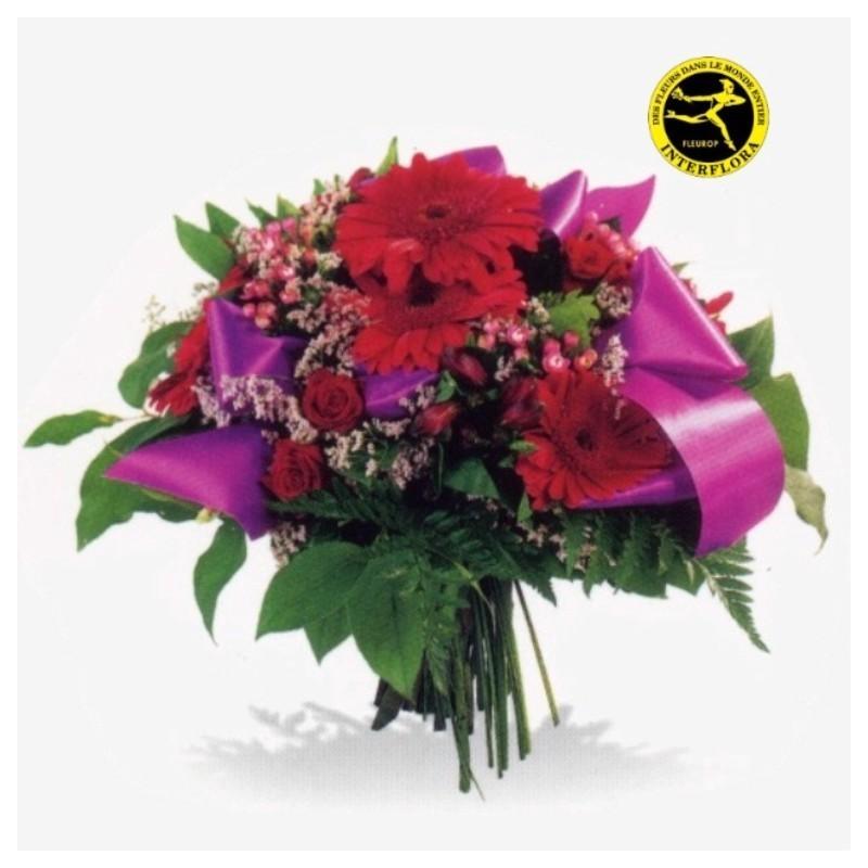 Bouquet de fleurs deuil serbie for Envoi bouquet