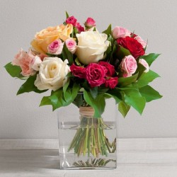 BOUQUET DE ROSES SENTIMENT DOM-COM