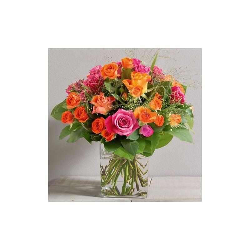 Bouquet de roses fashion interflora for Envoi bouquet