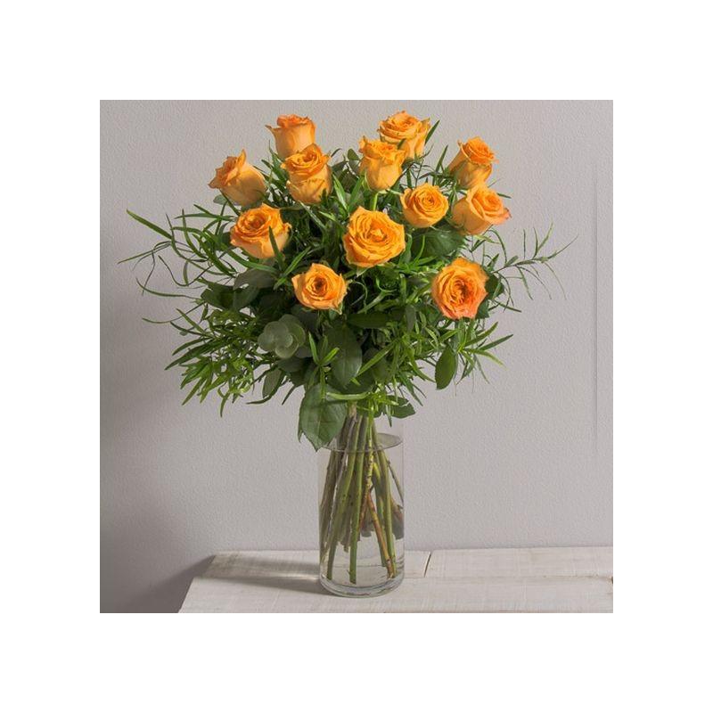 Bouquet de roses glossy interflora for Envoi de bouquet