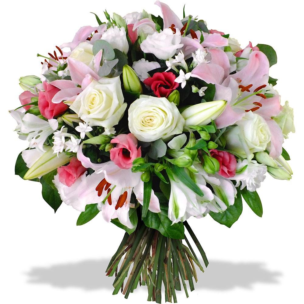 Bouquet De Fleurs Framboisine