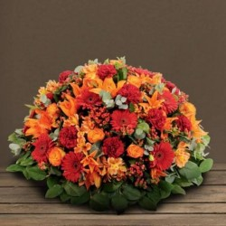 COUSSIN DEUIL ORANGE MEMORIAL