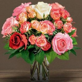 BOUQUET DEUIL PENSEE DOM-EXO
