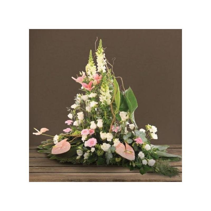 Devant de tombe maestro interflora for Envoi fleurs deuil